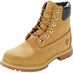 "Timberland Icon Collection Premium Boots Women 6"" Wheat Nubuck"